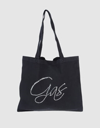 Gas Jeans Gas Large Fabric Bags Dark Blue