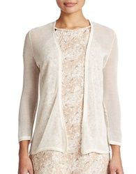 Tommy Bahama Linen And Cotton Blend Cardigan Lace