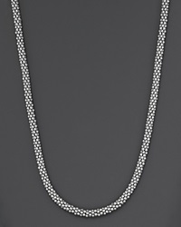Lagos Sterling Caviar Silver Rope Chain Necklace 16 No Color