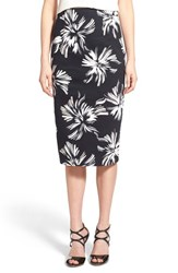 Chelsea 28 Women's Chelsea28 High Waist Floral Pencil Skirt