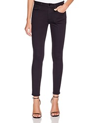 T By Alexander Wang Whip Skinny Jeans In Black