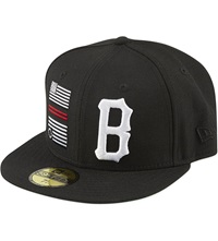 Black Scale Rebellious Flag Cap Black