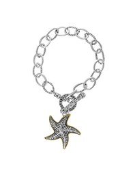 Effy Balissima 18K Yellow Gold And Sterling Silver Starfish Bracelet