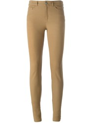 Joseph Skinny Trousers Nude And Neutrals
