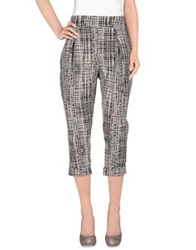 Rose' A Pois Casual Pants Ivory