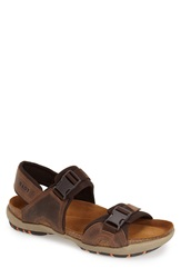 Naot Footwear 'Explorer' Sandal Men Bison Leather