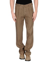Piombo Trousers Casual Trousers Men Military Green