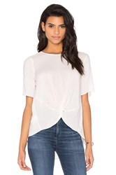 Bcbgeneration Front Knot Top Pink