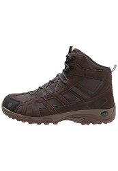 Jack Wolfskin Vojo Hike Texapore Men Walking Boots Earth Orange Brown