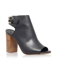 Carvela Kurt Geiger Assent Leather Bootie Female Black