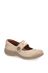 Aravon 'Revshow' Leather Flat Taupe