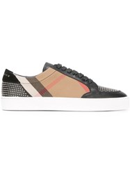 Burberry Studded Sneakers Black
