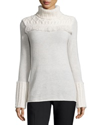Tory Burch Chunky Turtleneck Pullover Sweater