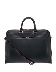 Lodis Audrey Brera Grain Leather Briefcase Black