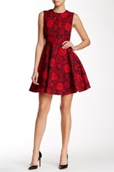 Jill Stuart Emilie Fit And Flare Dress Red
