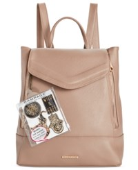Rampage Customizable Double Zip Backpack With Stickers Only At Macy's Taupe