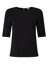 Phase Eight Annika Shell Top Black