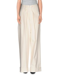 Band Of Outsiders Trousers Casual Trousers Women Ivory
