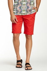 Wd.Ny Solid Short Red