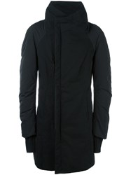 Andrea Ya'aqov Funnel Neck Padded Coat Black