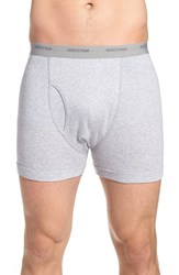 Men's Nordstrom Men's Shop Supima Cotton Boxer Briefs Grey