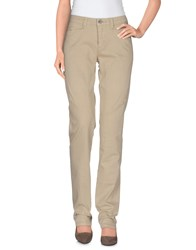 9.2 By Carlo Chionna Trousers Casual Trousers Women Beige