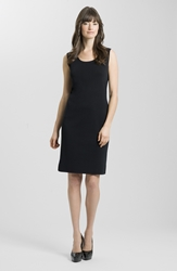 Ming Wang Knit Tank Dress Black