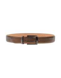 Carlo Pignatelli Belts Bronze