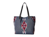 San Diego Hat Company Bsb1691 Cambray Tote Southwestern Bag Denim Tote Handbags Blue