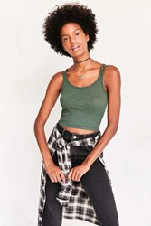 Truly Madly Deeply Blaise Cami Dark Green