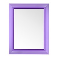 Kartell Francois Ghost Mirror Purple Large