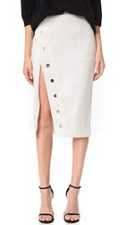 Finders Keepers Undisclosed Skirt White