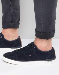 Tommy Hilfiger Harrington Suede Trainers Navy