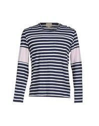 Band Of Outsiders Topwear T Shirts Men Dark Blue
