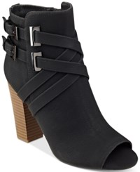 G By Guess Jackson Ankle Booties Women's Shoes Black