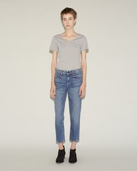 Alexander Wang Ride Jeans Light Indigo Aged