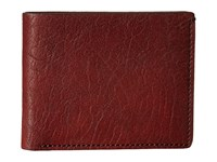 Bosca Washed Collection 8 Pocket Deluxe Executive Wallet Dark Brown Wallet Handbags