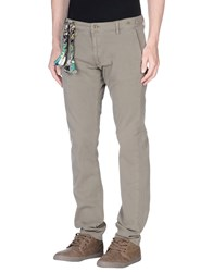 Truenyc. Trousers Casual Trousers Men Dark Green