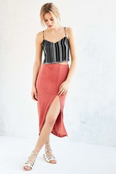 Minkpink Haute Mess Midi Skirt Rose