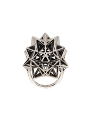 John Brevard Stellated Star Ring Metallic