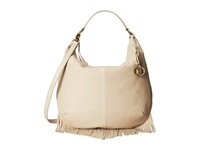 Lucky Brand Bailey Convertible Hobo Oyster Hobo Handbags Beige