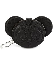 Nicopanda 'Cute Attack' Coin Purse Black