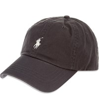 Ralph Lauren Classic Cotton Sports Cap Vintage Grey