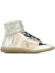 Maison Martin Margiela 'Future' Hi Top Sneakers Nude And Neutrals