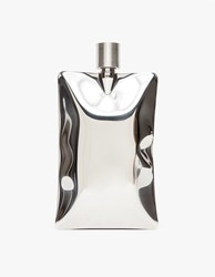Areaware Liquid Body Flask Stainless Steel