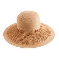 J.Crew Textured Summer Straw Hat Dusty Dune