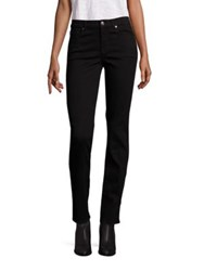 7 For All Mankind B Air Kimmie Straight Leg Jeans B Air Black