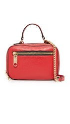 Milly Astor Mini Satchel Red