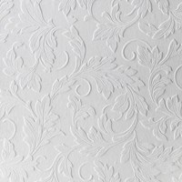 Graham And Brown Large Scrolling Leaf Paintable Wallpaper Sample Swatch