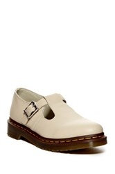 Dr. Martens Polley T Strap Mary Jane Unisex Beige